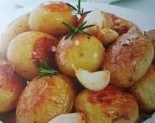 Kleine aardappels uit de oven