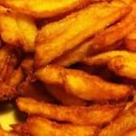 frites zelf gebakken
