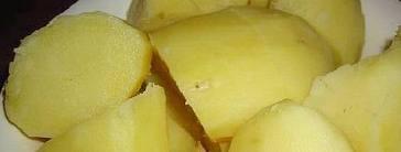 gekookte aardappelen