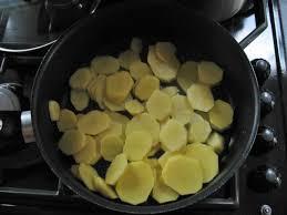 schijfles aardappel