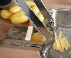 zelf frites snijden
