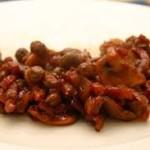 Kapucijners gekookt