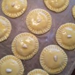 gevulde koeken in de oven