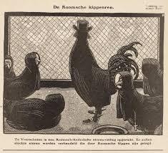 kippen bijj huis
