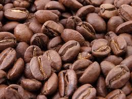 koffie-bonen gebrand