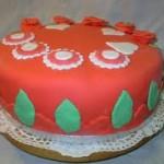 gebak met marsepein
