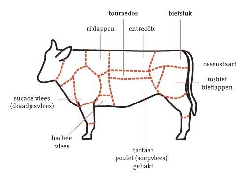 rund en vlees