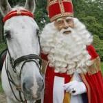 sinterklaas met paard