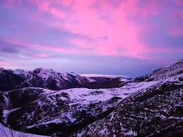 sneeuw pyreneen