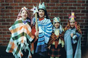 In Vlaanderen gaan kinderen nog langs de deur ( dank voor de foto)