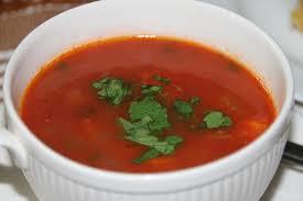heldere tomatensoep
