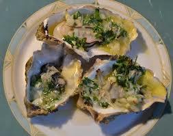 oesters met slakkenboter