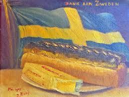 zweeds witebrood en margarine