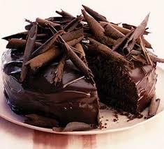 chocolafde taart