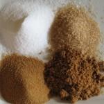 suiker in vier soorten