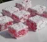 kornoelje-snoepjes in suiker gerold
