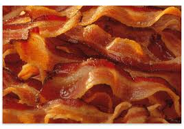 gebakken bacon
