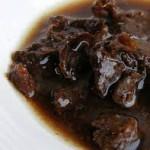 tamarinde pasta = het zure uit de Indonesische keuken