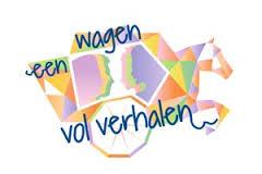 een wagen vol logo