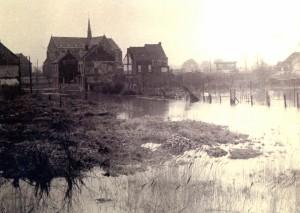 Sint Anna ten Drieën onder water