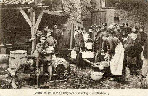 eerste wereldoorlog vluchteling in zeeland