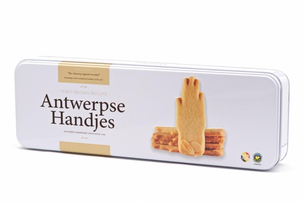 blik voor Antwerpse handjes