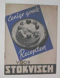 reclame voor stokvis