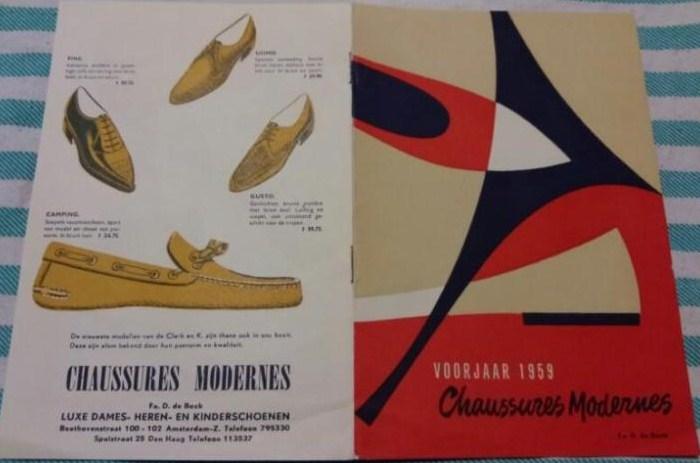 Schoenmode uit het Voorjaar van 1959