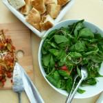 spinazie sla