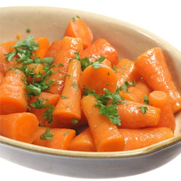 gekookte worteltjes