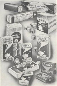 honig 4 producten 20001
