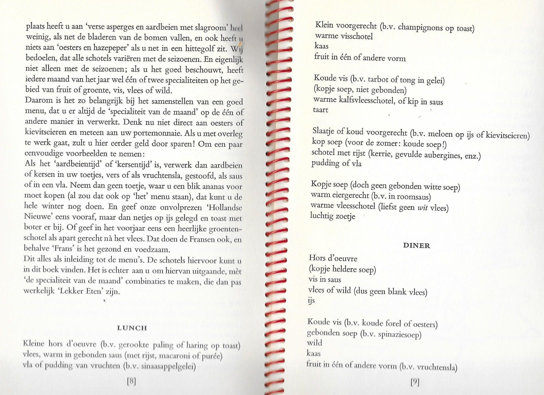 lekker koken 1958 2 menu's0005