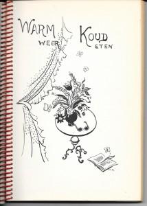 lekker koken 1958 3 hoofdstuk tekening