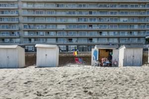 zielloze blokkendozen aan de Vlaamse kust