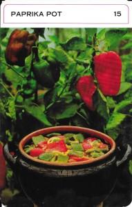 dinerkaarten paprika 10002