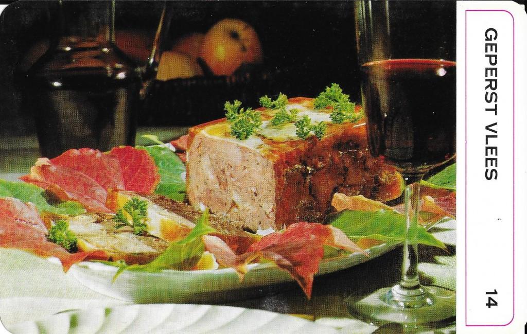 dinerkaarten vlees 10002