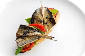 sardines op toast