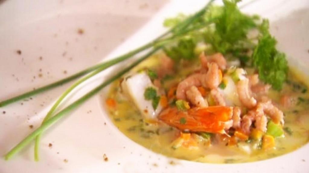 waterzooi met garnalen en zeevis blankenberge
