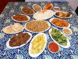 complete rijsttafel