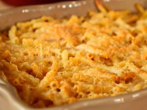 Macaroni met kaas uit de oven