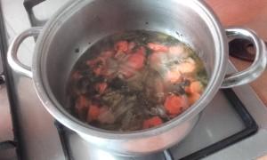 zoutarme bouillon