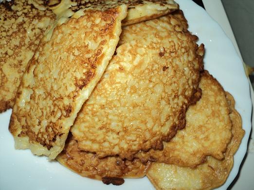rijst drie in een pan
