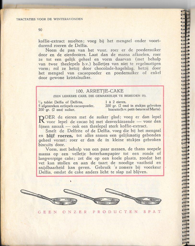 winterboekje calve arretjes cake
