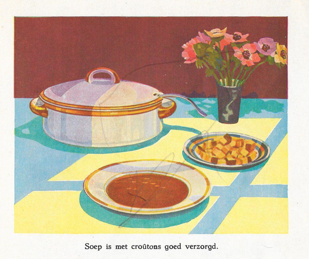 winterboekje calve soep met croutons