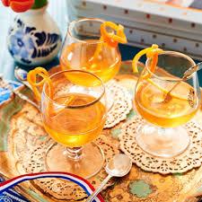 glaasje oranje