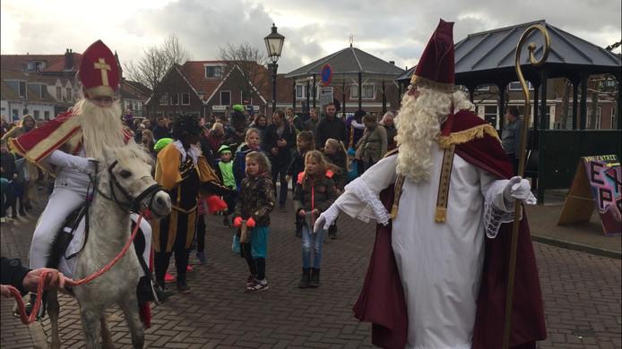 Sinterklaas in Koudekerke (met dank aan de pzc)