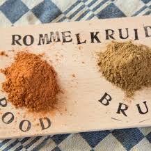Rommelkruid rood en bruin