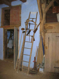 ladder voor de slacht