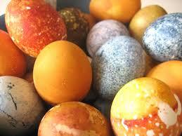 geverfde eieren