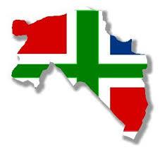 Groningen vlagkaart
